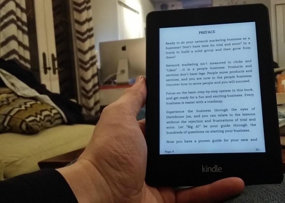 Reading Kindle