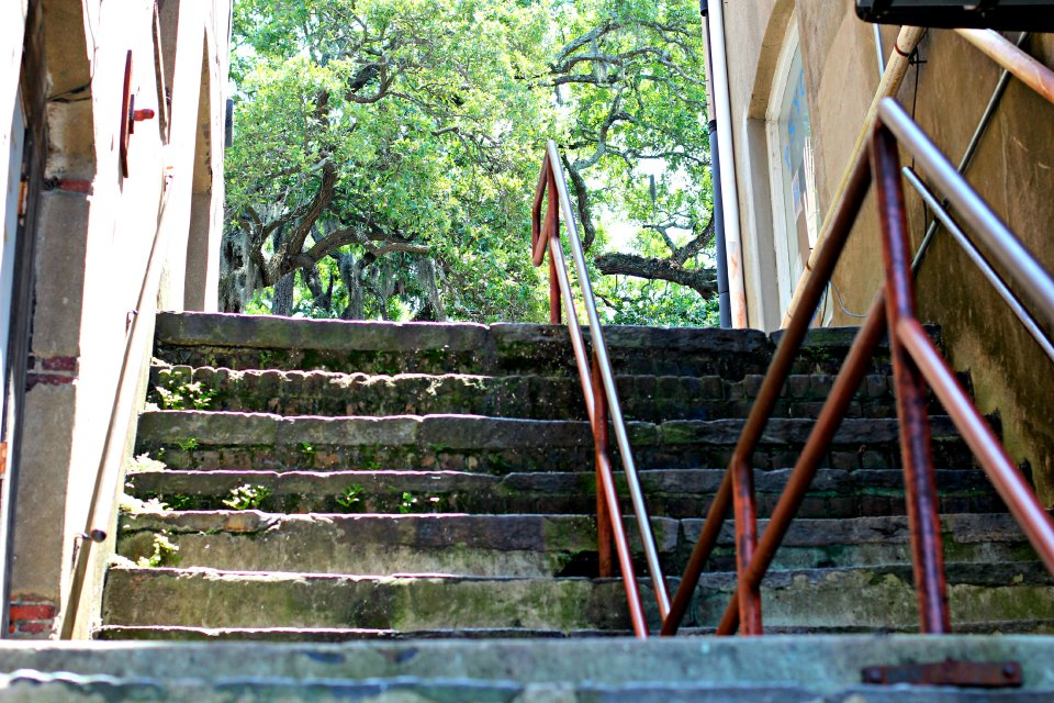 Stairwell To Savannah Park